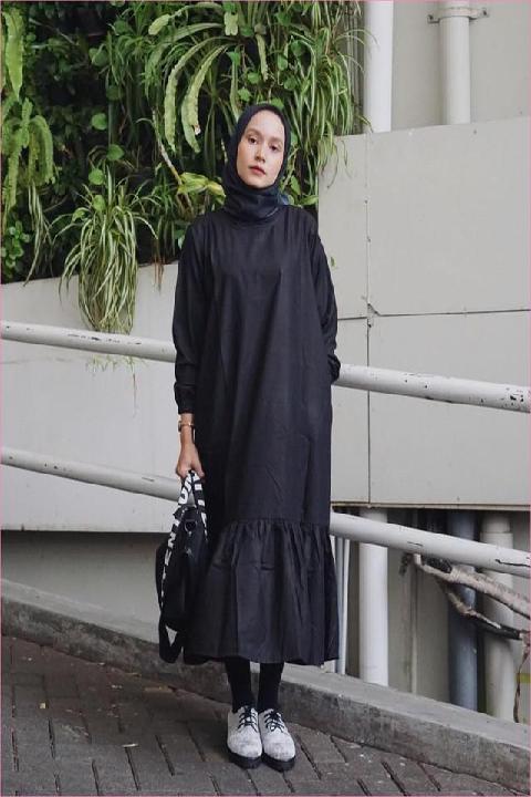 Good Looking 5 Style Kekinian Ootd Hijab Dengan Legging Wudhu Ala Influencer