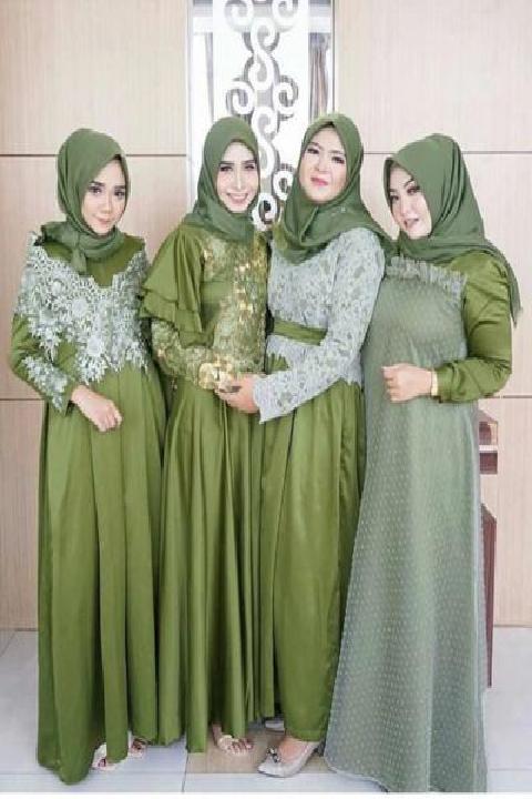 Mint Sampai Pastel Yuk Lihat Inspirasi Perpaduan Warna Hijau Pada Hijabmu
