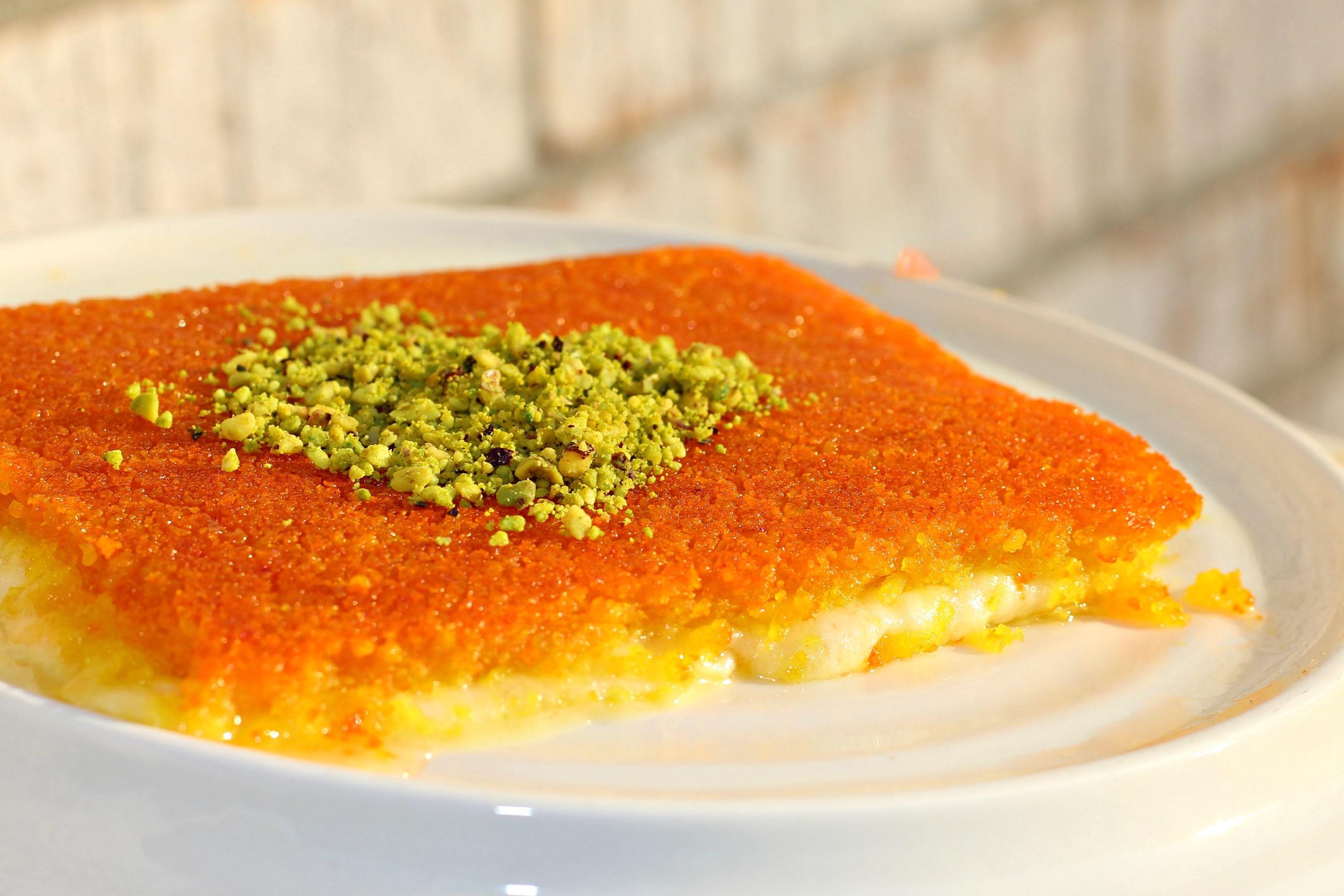 Kunafa Dessert Manis Berserabut Dari Syam