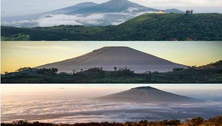 Jadi Destinasi Favorit Para Pendaki Ini Pesona Tiga Gunung Di Wonosobo