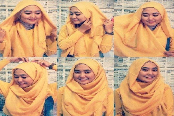 Tutorial Hijab Kasual Dan Syar I Untuk Wajah Bulat